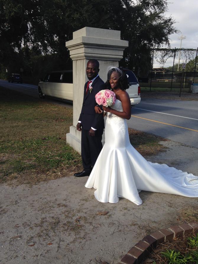 Hampton Park Wedding: Monique + Tony