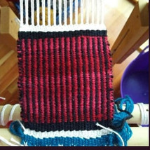 A sample in weft faced weaving.jpg