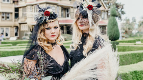 Steampunk Brides at the Winchester Mystery House