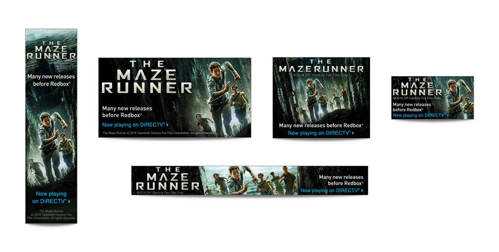 Maze Runner Web Banners