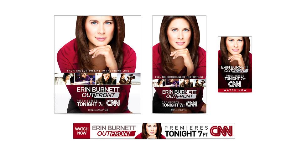 Erin Burnett Web Banners
