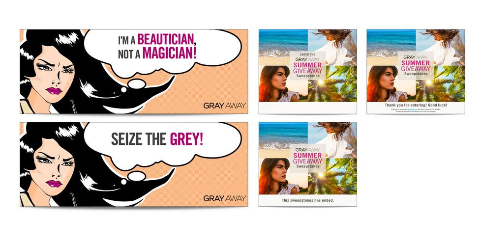 GrayAway Web Banners