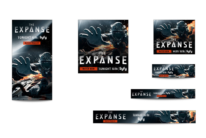 The Expanse Web Banners