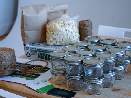 How To Make DYI Sustainable & Affordable Gifts For Your Events