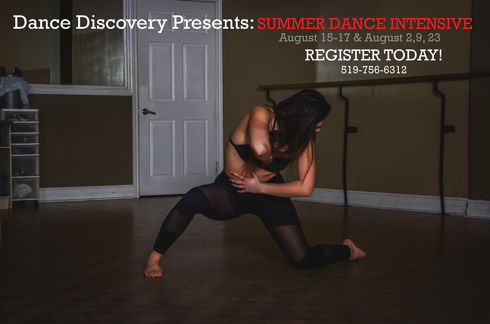 Be sure to join us this August for our Summer Intensives!