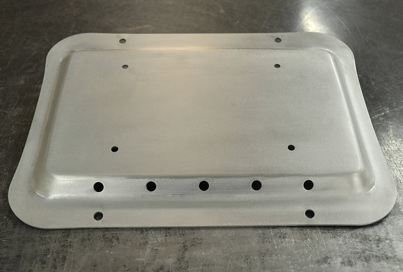 Bare Aluminum Solution Plate