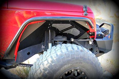 Jeep JK Aluminum inner fender