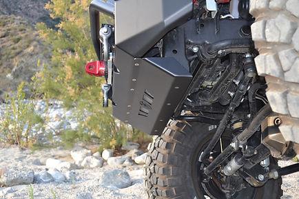 Jeep Wrangler JK Custom Armor Crash Bar Skid Plate