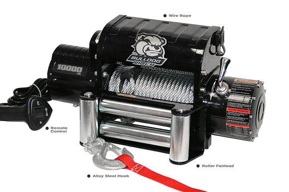 Bulldog 10K , Cable and Roller Fairlead