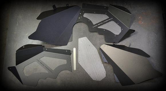 Powder Coated Inner Fenders