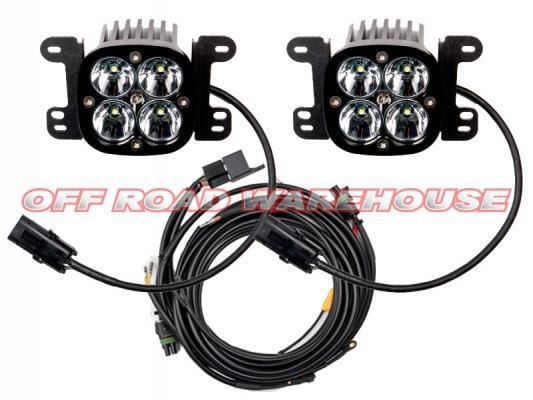 Baja Designs Squadron Jeep JK Fog Light Kit