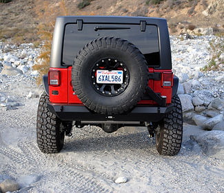 Rock Brawler Tire Carrier