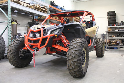 Can AM X3 On Boad Air Kit