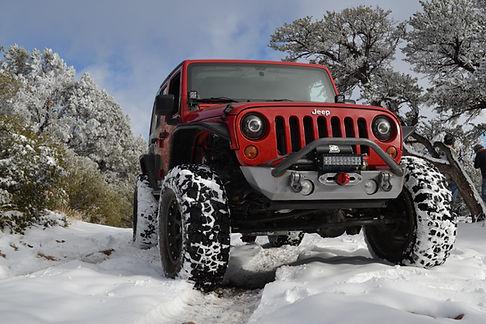 Jeep Wrangler Front Bumper Winch