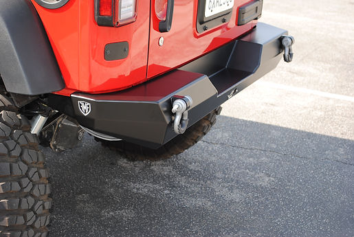 Jeep JK Wrangler Custom Off Road Rear Bumper