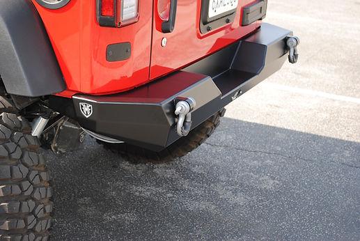 Jeep JK Wrangler Custom Off Road Rear Bumper