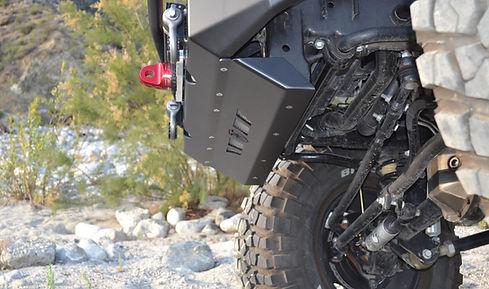 Jeep JK JKU Bumper Warn Zeon Winch