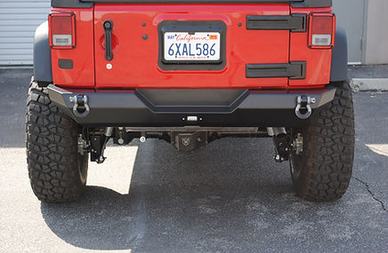 Jeep Wrangler JK Custom Rear Bumper Off Road Armor