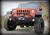 Jeep Wrangler Mid-Width Bumper Warn Zeon