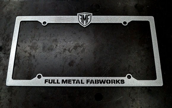 FMF License Plate Frame