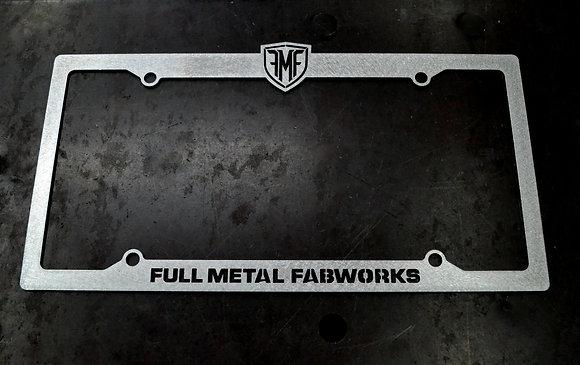 FMF License Plate Frame
