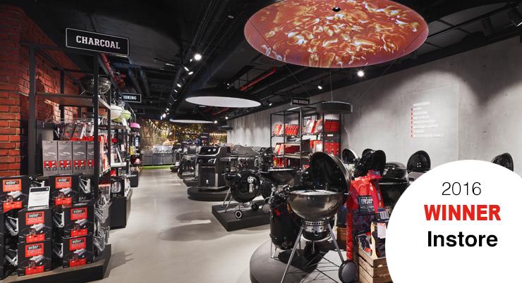 Weber Original Store – Ein Store für alle Sinne