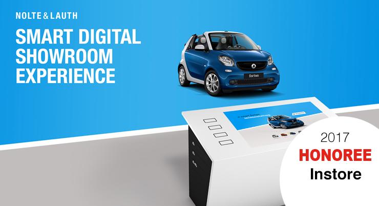 smart Digital Showroom Experience