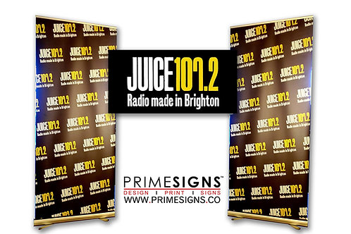 Pull Up Banners.