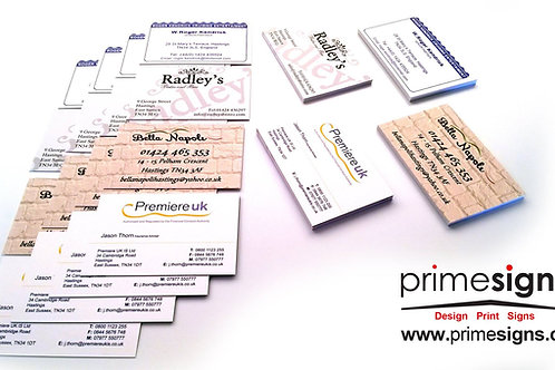 450GSM Laminated, Business Cards