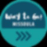 Way to Go! Missoula logo - 4 blue arrows below text