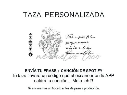 Taza Personalizada ¡Con tu canción favorita!