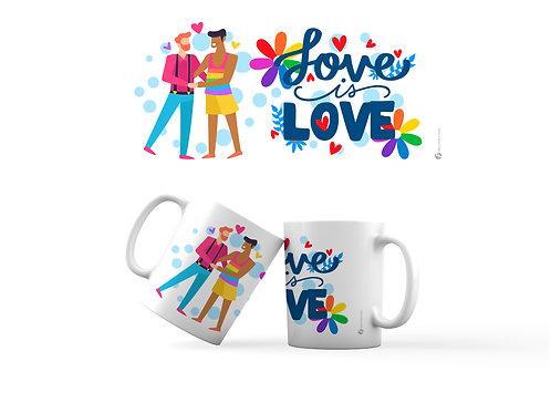 Taza - Love is Love