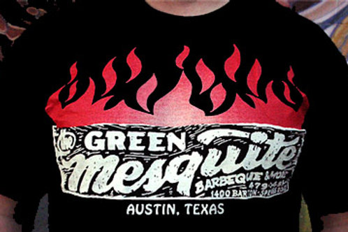 Men's Black Cotton T Shirt with Smoking The Good Stuff Since 1988
