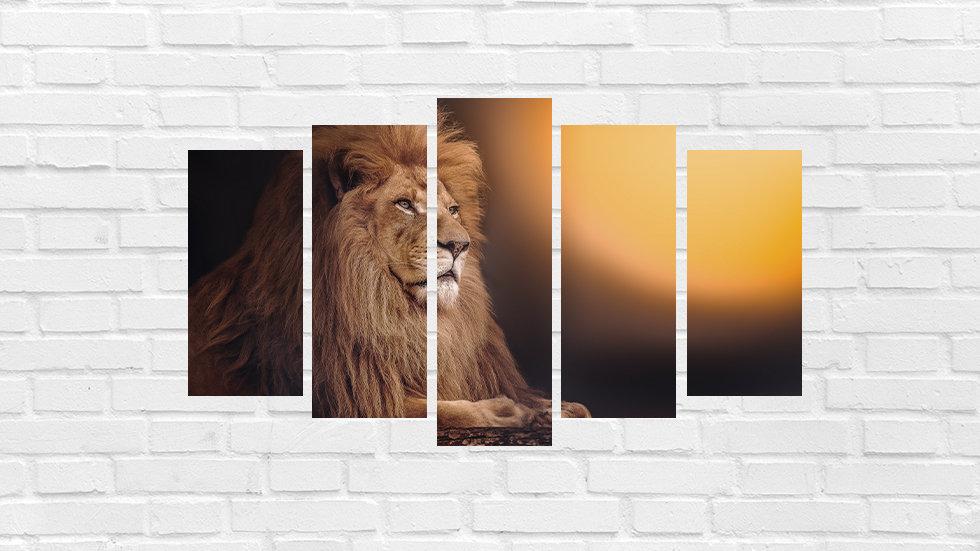 Mosaico leão 43