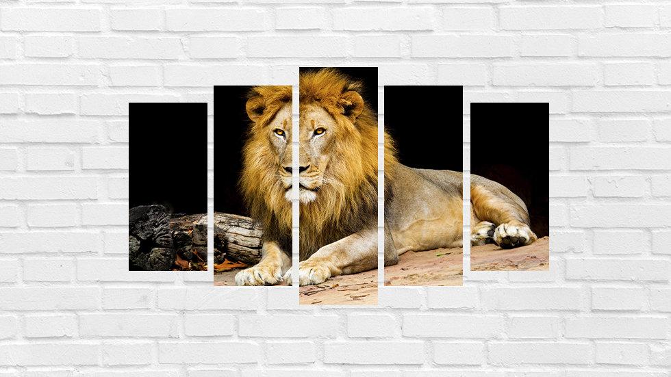 Mosaico leão 41