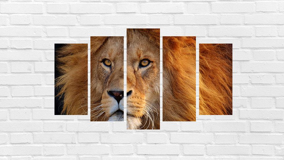Mosaico leão 88