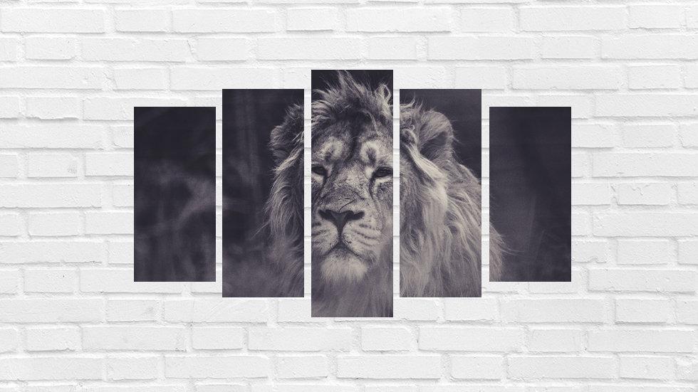 Mosaico leão 87