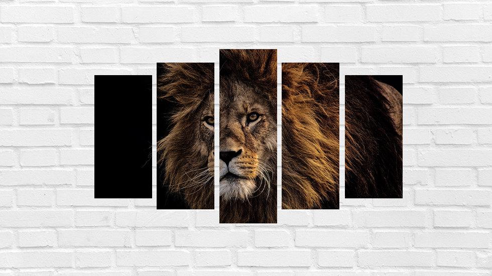 Mosaico leão 40