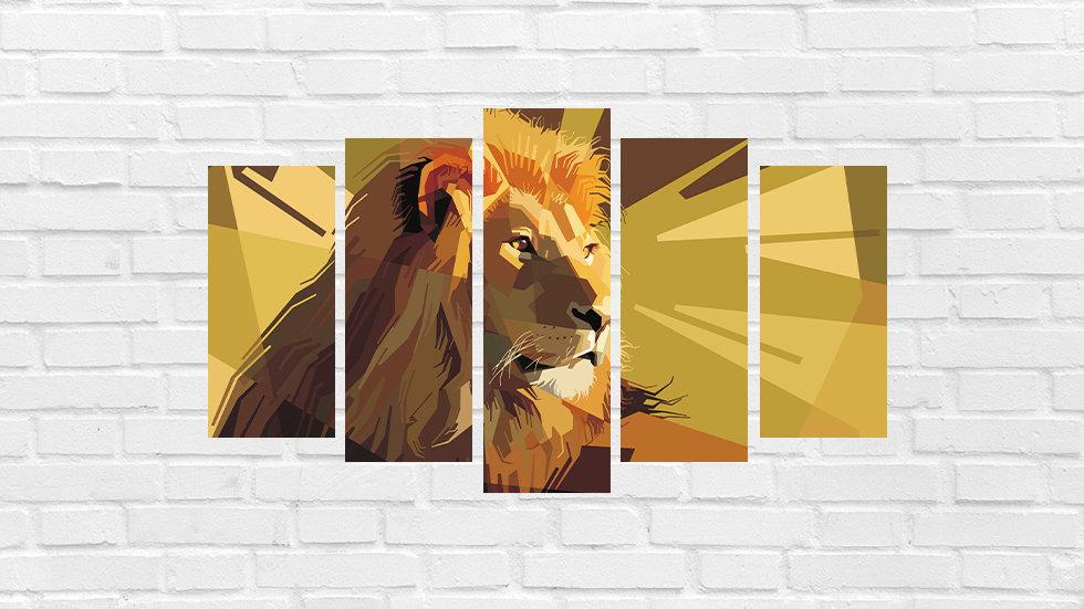Mosaico leão 46