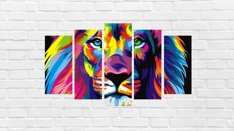 Mosaico leão 49