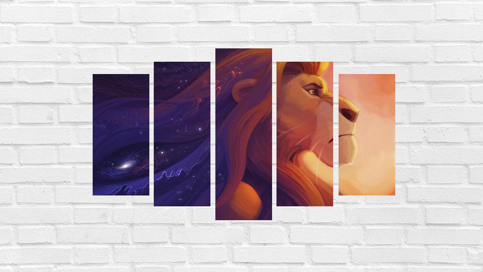 Mosaico leão 45