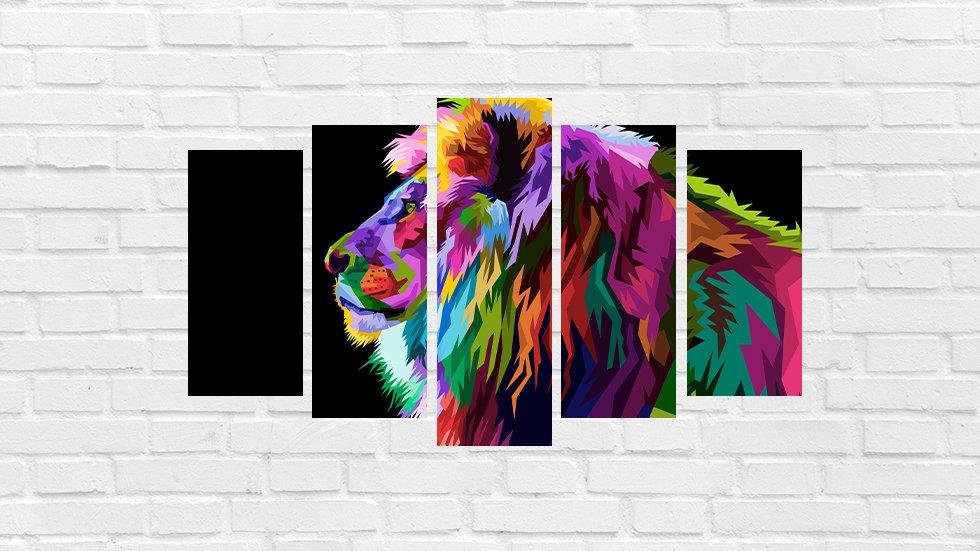 Mosaico leão 84