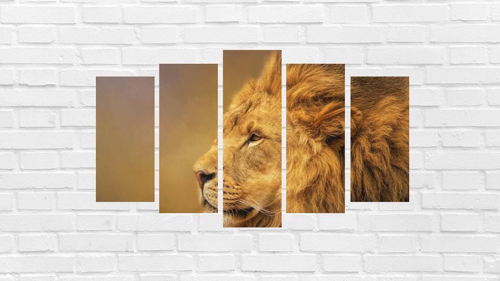 Mosaico leão 85