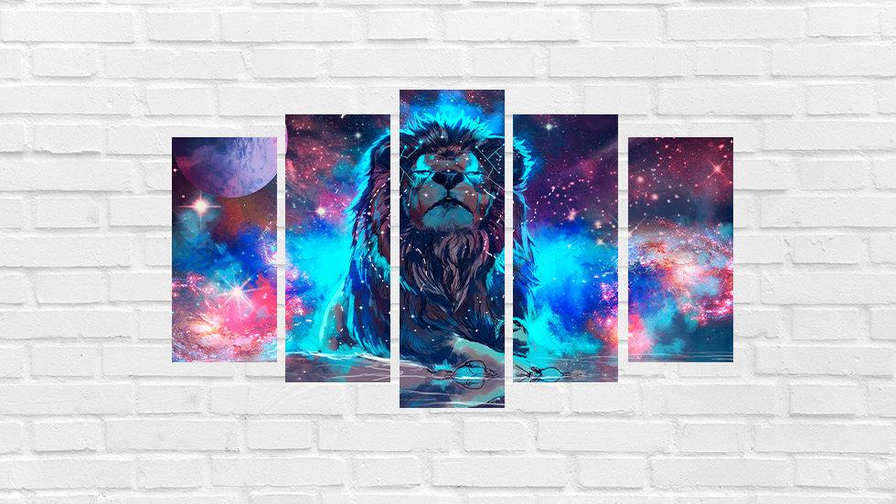Mosaico leão 48