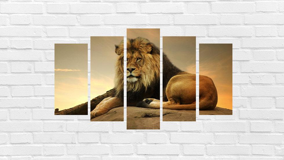 Mosaico leão 42
