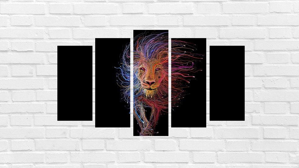 Mosaico leão 47