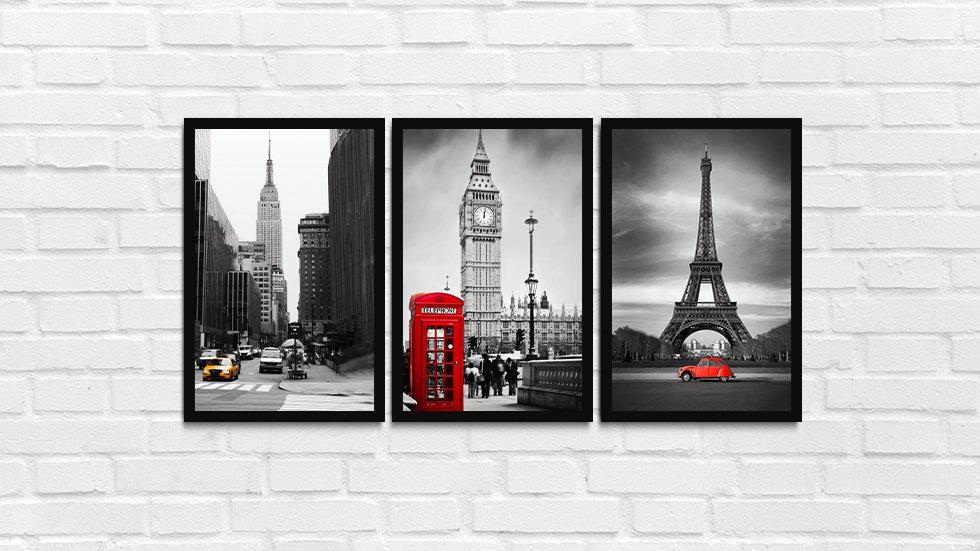 Kit, NY, Londres, Paris
