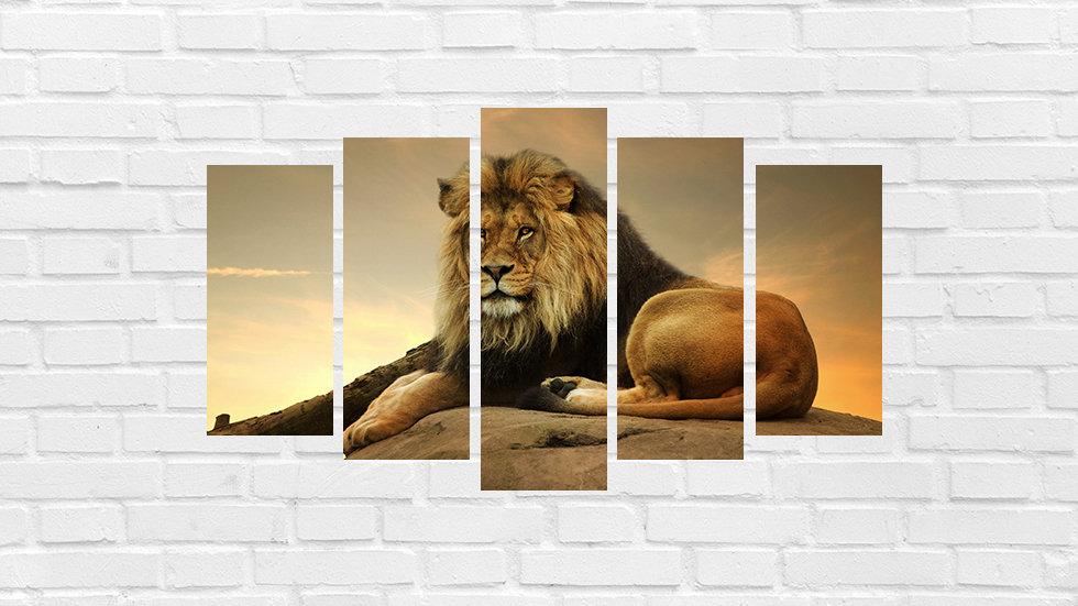 Mosaico leão 91