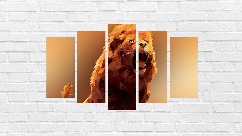 Mosaico leão 83