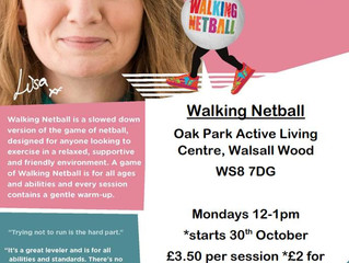 Walking Netball Walsall Wood